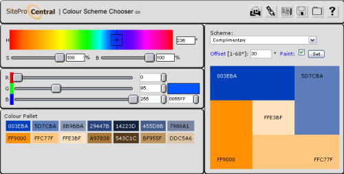 Color Scheme chooser